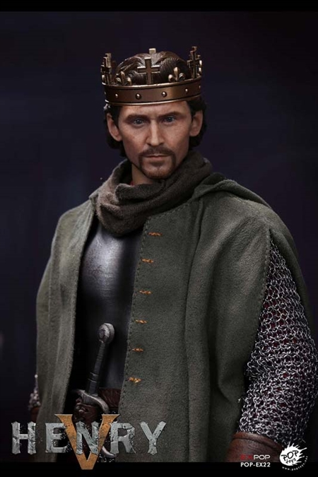 King Henry V of England - POP Toys 1/6 Scale Figure