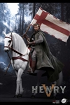 War Horse for King Henry V of England - POP Toys 1/6 Scale Figure