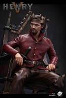 SHANGHAI 2019 WF Expo Limited King Henry V of England Throne Version - POP Toys 1/6 Scale Figure