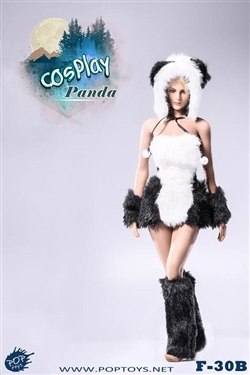Panda Cosplay Set B -  POP Toys 1/6 Scale