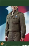 US Army Officer Uniform Set Version B - Pop Toys 1/6 Scale