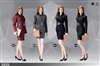 Office Lady Suit Set -Skirt Version - Pop Toys 1/6 Scale