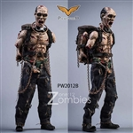 Zombies - Version B - Pocket World 1/12 Scale Figure