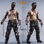 Zombies - Version C - Pocket World 1/12 Scale Figure