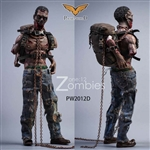 Zombies - Version D - Pocket World 1/12 Scale Figure