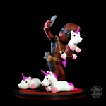 Deadpool #unicornselfie - QMX Q-Fig Diorama