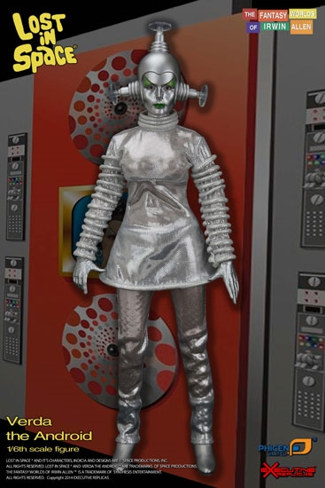 Verda The Android Lost In Space 1 6 Scale Figure