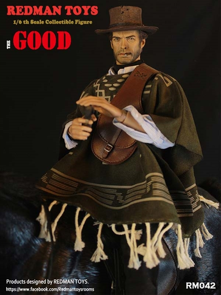 Brown Leather Like Bag The Bad 1//6 scale toy Cowboy