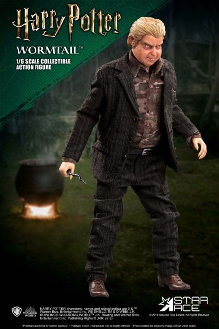 Star Ace Harry Potter Wormtail Peter Pettigrew 1:6 Scale Deluxe Figure