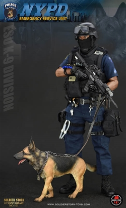 Nypd Esu K 9 Division Soldier Story 1 6 Scale Figure