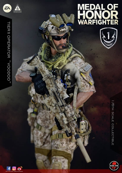 "Soldier Story 1//6 Scale 12/"" Medal of Honor Navy SEAL Operator Voodoo Warfighter"