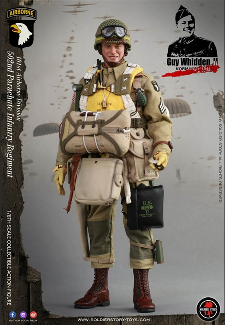 Guy Whidden II - 101st Airborne Division World War II - Soldier Story 1/6 Scale Figures