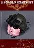 HGU-56/P Helmet Set - Pig Version - Soldier Story 1/6 Scale Accessory Set
