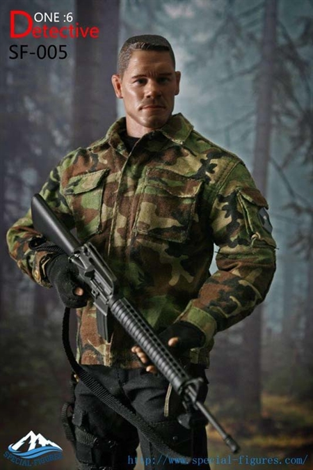 Detective - Camo Version - Special Figure 1/6 Scale Figure