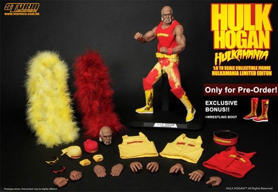 hulk hogan figure