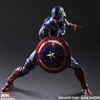 Captain America Variant - Play Arts-KAI Collectible Figure
