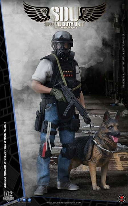 HK SDU Canine Handler - Soldier Story 1/12 Scale Figure