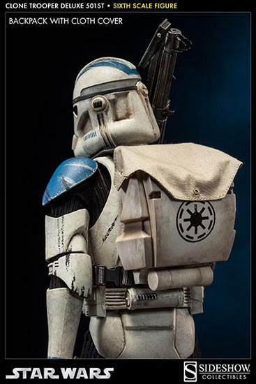 clone trooper deluxe 501st 16 figure sideshow