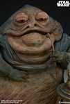 Jabba the Hutt and Throne Deluxe - Star Wars - Sideshow 1/6 Scale Figure