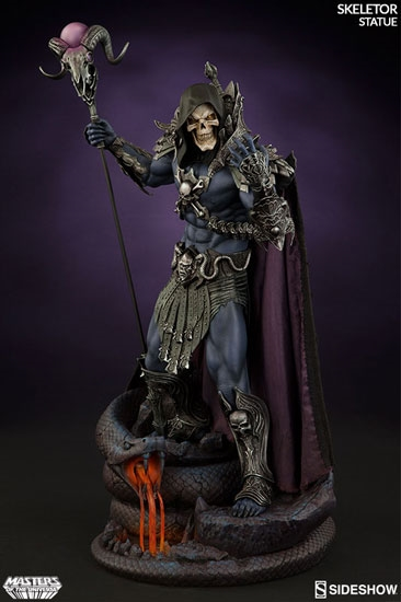 Skeletor Statue - Sideshow Collectibles