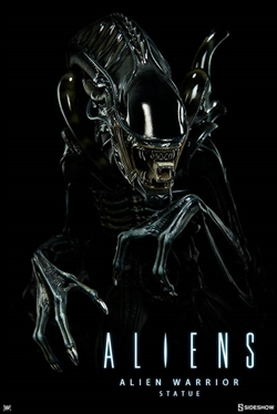 Alien Warrior Statue - Sideshow
