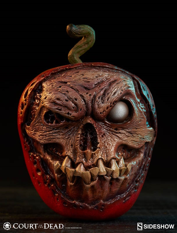 Skull Apple - Rotten Version - Court of the Dead - Sideshow Prop Replica