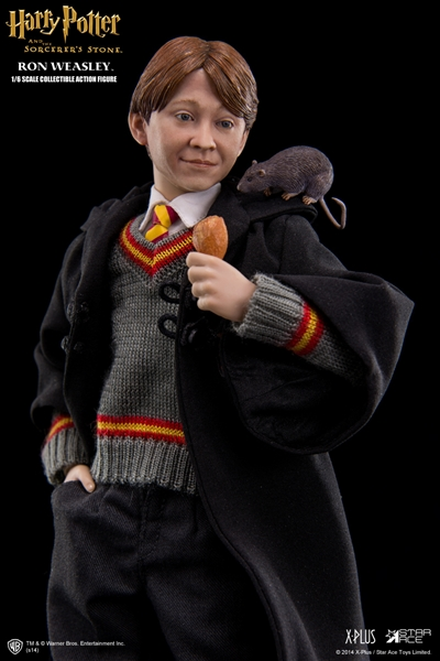 Best Harry Potter Toys And Figures : Ron weasley sorcerer s stone collectible figure