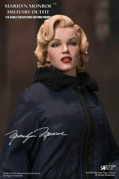 1cac23cc144a Marilyn Monroe in Military Outfit - Star Ace 1/6 Scale Figure