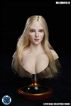 Headsculpt - Female with Golden Hair - SuperDuck 1/6 Scale Accessory