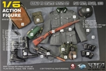 WWII German WH Infantry Private Set PLAN WHITE, Poland, 1939 - Toys City 1/6 Scale Accessory Set