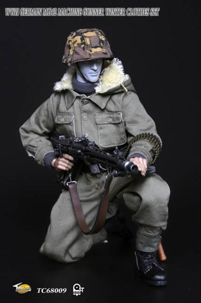 Wwii German Mg42 Machine Gunner Uniform Set Toys City 1 6 Accessory