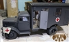 Opel Blitz Ambulance in Panzer Gray - Toy Model 1/6 Scale Metal Vehicle