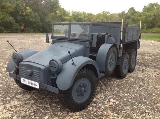 6x4 Truck Krupp Protze KFZ.70