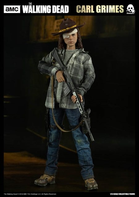 Carl Grimes Deluxe Version - The Walking Dead - ThreeZero 1/6 Scale Figure