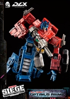 Optimus Prime Collectible Figure - Transformers - ThreeZero  DLX Collectible Figure