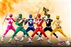 Core Rangers + Green Ranger Set - Mighty Morphin Power Rangers - ThreeZero x Hasbro 1/6 Scale Figure Set