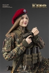 Kerr - Flecktarn Woman Soldier - Very Cool 1/6 Scale