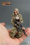 Villa - Women Soldier - Very Cool 1/12 Scale Figure