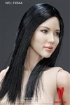 Asian Female Body with Head - Very Cool 1/6 Scale - Straight Hair Version A