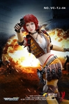Fourth Bomb - Female Mercenary Heart King - Tencent Wefire -  Very Cool 1/6 Figure