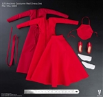 Ancient Costume Red Dress Set - Very Cool 1/6 Scale