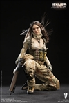 A-TACS FG Double Women Soldier - Version A - Very Cool 1/6 Scale Figure