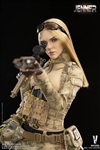 A-TACS FG Double Women Soldier - Version B - Very Cool 1/6 Scale Figure