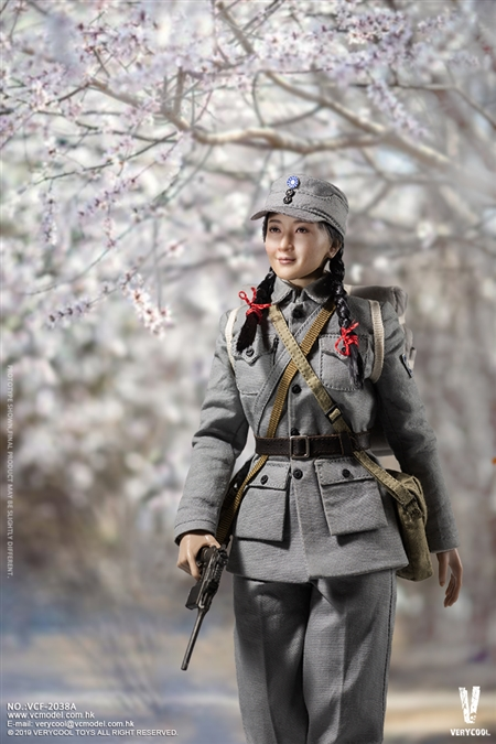 1//6 VeryCool Female Eighth Route Army Medical Soldier Standard Edition VCF-2038A