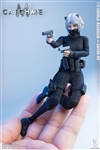 Female Assassin Catch Me - Pam Treasure Series - Very Cool 1/12 Scale Figure