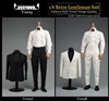 Retro Gentleman's Suit Set - VOR Toys 1/6 Scale Accessory Set