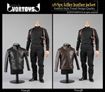 Leather Jacket Set - Two Color Options - Vor Toys 1/6 Scale Accessory