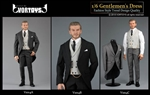 Morning Coat Tuxedo Set - Three Color Options - Vor Toys 1/6 Scale Accessory