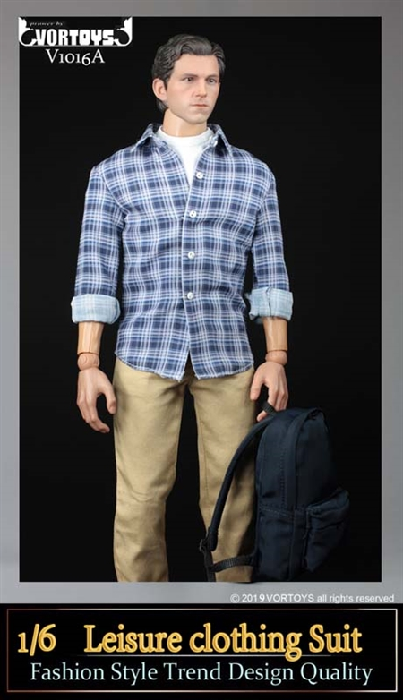 Parker Field Trip Outfit - Chinos Version A - VOR Toys 1/6 Scale Accessory Set