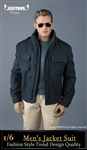 Men's Blue Jacket Set - Vor Toys 1/6 Scale Accessory